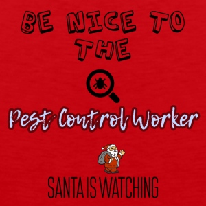 Be nice to the Pest control worker - Männer Premium Tank Top