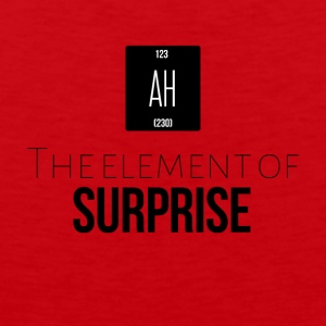 The element of surprise - Men's Premium Tank Top