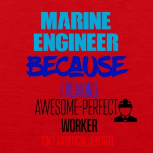 Marine engineer - Men's Premium Tank Top