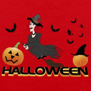 witch halloween - Men's Premium Tank Top