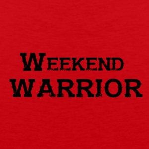 Shirt Weekend Warrior Weekend Party - Men's Premium Tank Top