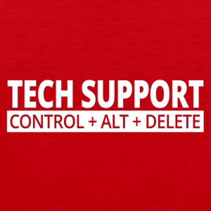 tech support - Men's Premium Tank Top