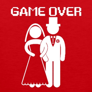 GAME OVER - Tank top premium hombre