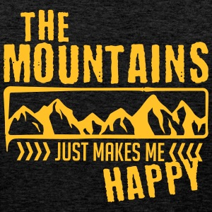 Mountains make happy - mountain - Men's Premium Tank Top