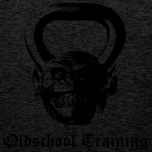 Oldschool Training Kettlebell - Men's Premium Tank Top