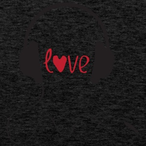 LOVE MUSIC - Men's Premium Tank Top