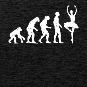 EVOLUTION BALLERINA! - Men's Premium Tank Top