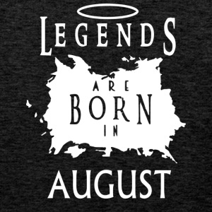 Legends August Birthday - Men's Premium Tank Top