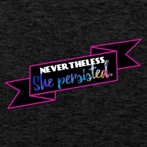She persisted! - Men's Premium Tank Top