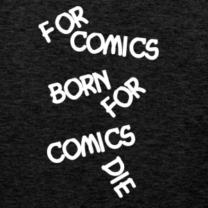 Comic Fan voor strips Born - Mannen Premium tank top