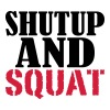 Shut up and SQUAT - Naisten premium hihaton toppi