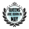 Queens Are Born In May - Women's Premium Tank Top