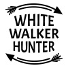 White walker hunter - Premium singlet for kvinner