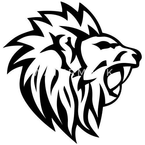 Lion Tribal Tatouage Dessin 1402 De C2b Spreadshirt