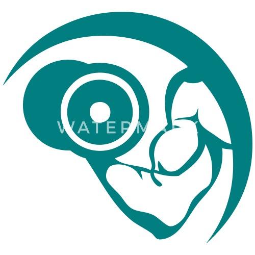 haltere musculation bras muscle logo body - Débardeur premium Femme.  Devant. Dos. Design 7895b601ee1