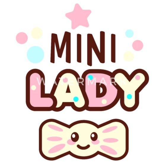 Kleine Lady Mädchen Tochter Geschenk Geburt Frauen Premium