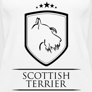 SCOTTISH TERRIER COAT OF ARMS - Women's Premium Tank Top