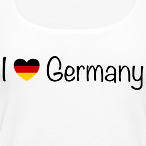 I love Germany - Women's Premium Tank Top