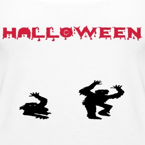 Halloween Zombies - Frauen Premium Tank Top