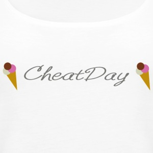 CheatDay - Tank top damski Premium
