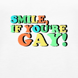 Gay Pride gay lighed Gave grin - Dame Premium tanktop