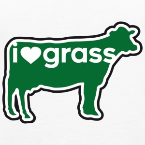 I love grass - Women's Premium Tank Top