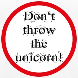 Don't throw the unicorn! - Frauen Premium Tank Top