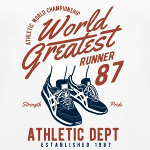 World Greatest Runner2 - Women's Premium Tank Top