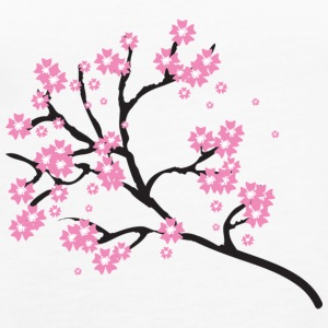 Cherry blossoms - Women's Premium Tank Top