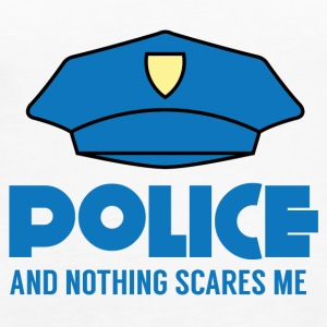 Police: Police And Nothing Scares Me - Women's Premium Tank Top