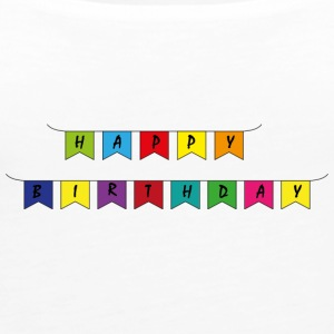 Happy B Day - Women's Premium Tank Top