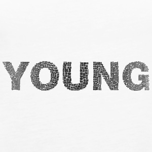 Young writing - Women's Premium Tank Top