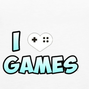 I LOVE GAMES - Women's Premium Tank Top