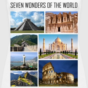 Wonders of the World - Wonders of the Modern World - Women's Premium Tank Top