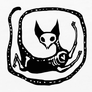 Skeleton Cat - Vrouwen Premium tank top