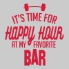 it's time for happy hour at my favorite bar C 1c - Women's Premium Tank Top