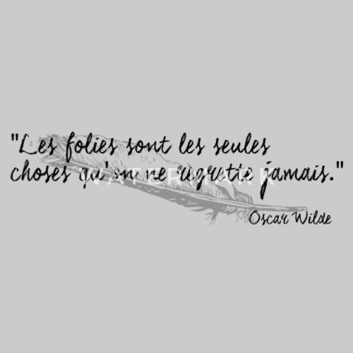 Oscar Wilde   Citation Women's Premium Tank Top | Spreadshirt