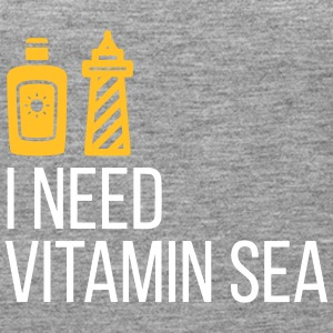 I Need Vitamin Sea! - Women's Premium Tank Top