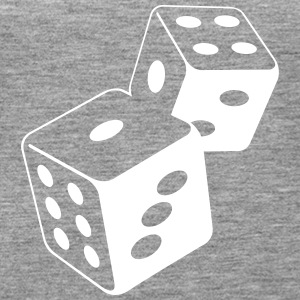 Two Dice At The Casino - Women's Premium Tank Top