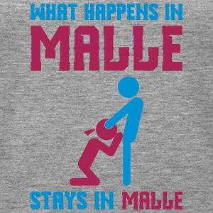 Malle what happens there - Women's Premium Tank Top
