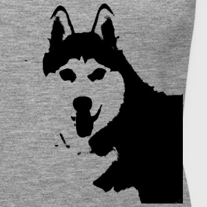 Husky black and white - Women's Premium Tank Top