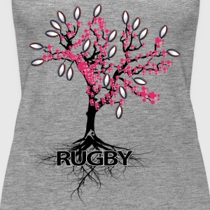THE RUGBY TREE - Women's Premium Tank Top