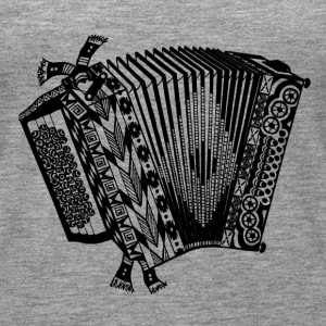 accordeon - Vrouwen Premium tank top