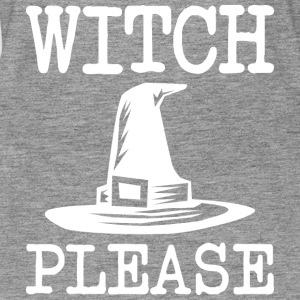 witch please Halloween - Women's Premium Tank Top