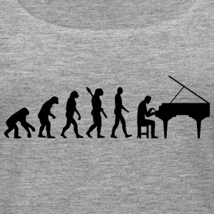 Evolution Piano Piano b - Women's Premium Tank Top