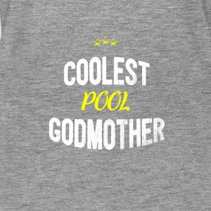 Distressed - COOLEST POOL GODMOTHER - Women's Premium Tank Top