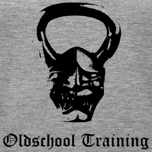 Oldschool Training Kettlebell Devil - Frauen Premium Tank Top