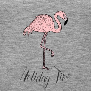 Rosa Paradiesvogel Flamingo - Holiday Time T-Shirt - Frauen Premium Tank Top