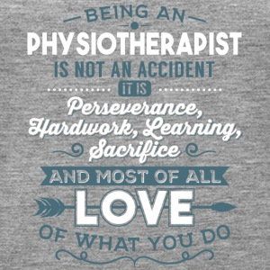 Love what you do - Physiotherapist - Women's Premium Tank Top