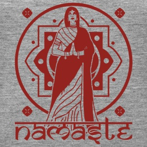 Namaste, नमस्ते - Frauen Premium Tank Top